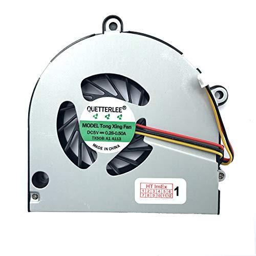 Lüfter/Kühler - Fan kompatibel für Toshiba Satellite C660, C660D, C665 (Laptop Grafikkarte Toshiba)
