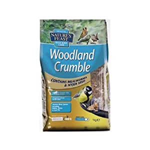 Garden Lovers 1kg of Woodland Crumble Wild Bird Food [e92007] (Neoteriker Design)