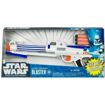 (Star Wars 92889 Star Wars Clone Wars Clone Trooper Blaster Waffe - Nerf Darts)