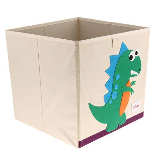 plätze Faltbare Würfel Box Korb Spielzimmer Kinder Baby Spielzeug Veranstalter - Dinosaurier ()