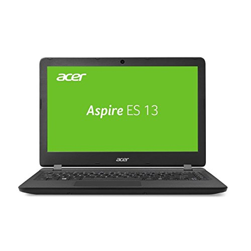 Acer Aspire ES 13 (ES1-332-P9QY) 33,8 cm (13,3 Zoll HD) Notebook (Intel Pentium N4200, 4GB RAM, 1000GB HDD, 64GB eMMC, Intel HD Graphics 505, Win 10 Home) schwarz