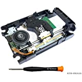 PS4 Lente láser de repuesto KEM-496AAA con Lens Deck KES-496 - Laser Pieza de reparación de Blu Ray Unidad de motor de módulo de unidad de DVD con cabeza óptica para PS4 Slim Pro CUH-20xx, CUH-70xx