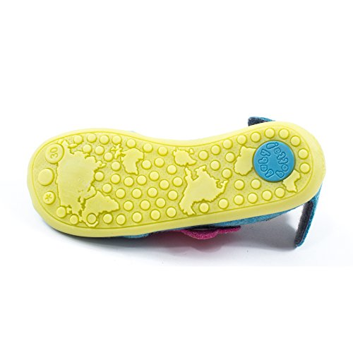 Babybotte Junon, Chaussons fille Turquoise (4-490)