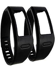 WEINISITE Recambio pulsera Con broches de Garmin Vivofit Pulseras/Garmin Vivofit Fitness, ningún Tracker (#1, L)