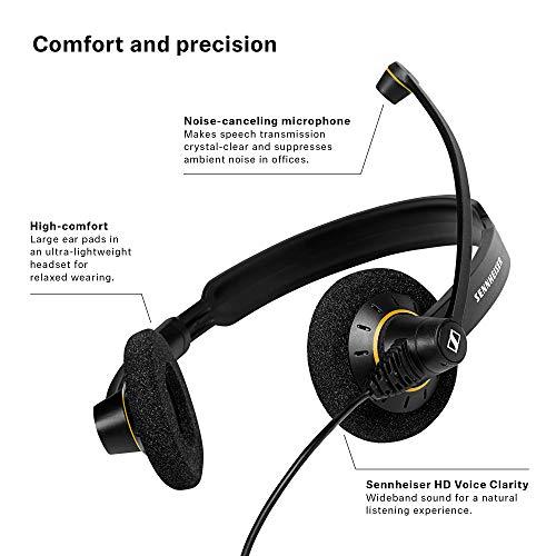 Sennheiser 504547 Culture Series Wideband Headset (SC60-USB-ML) Image 6