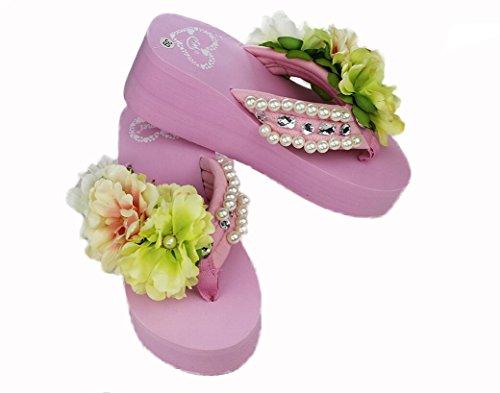 beauqueen-femmes-ete-bord-de-mer-vacances-manuel-fleurs-flip-flop-perles-foret-fleurs-sandales-pente