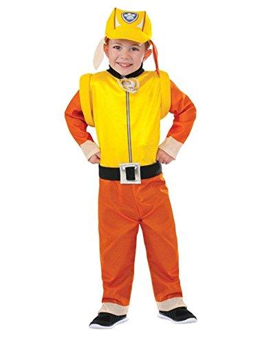 Disfraz de Rubble Patrulla Canina para niño - Único, 3 a 5 años