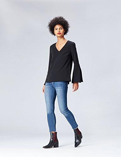 FIND Top Manches Longues Femme Noir (Black)
