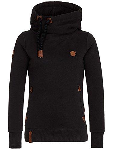 Naketano Damen Sweatshirt Black