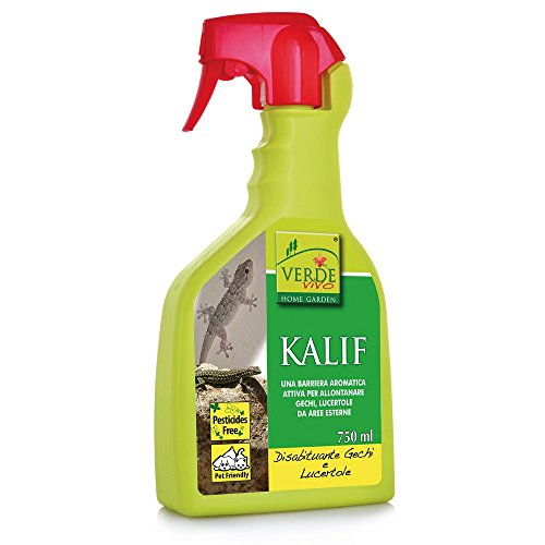 VERDE VIVO Kalif disabituante per gechi e lucertole kollant 750ml, Unica