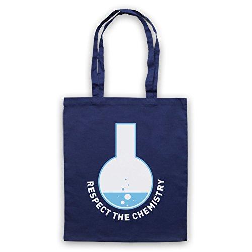 Respect The Chemistry Science Umhangetaschen Ultramarinblau