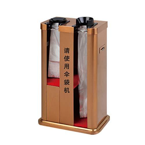 Regenschirmständer modern Regenschirm-Maschinen-automatischer Edelstahl-Doppelkopf-Regenschirm-Satz-Maschinengeschäft-Versammlungsraum-Regenschirm-Stand Möbel Schirmständer (Color : B)