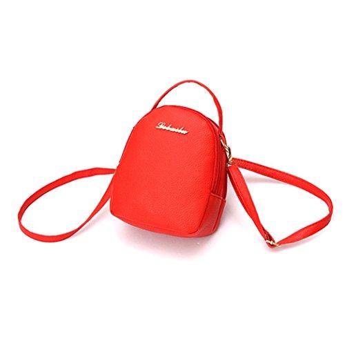 YOUBan Damen Rucksack Lässige kleine Rucksäcke Einkaufstasche Weiche Umhängetaschen Schultertasche Handtasche