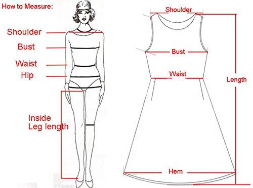 Rcool Ärmellos Spitze figurbetonten Kleid Bandage Club Pencil Minikleid für Lady-Frauen Rot