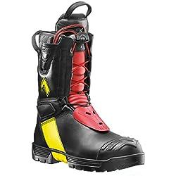 Botas de bombero Haix Fire Hero 2, héroes en acción: botas de bombero para la lucha contra incendios, color Negro, talla 40.5 EU