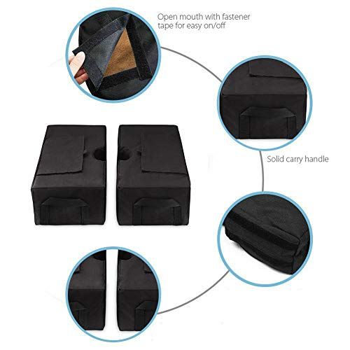 paletur88 Sandsack Shelter Tool Quadratische Schirmbasis Für Überdachung Dauerhaftes Gewicht Außenschirm Abnehmbarer Sonnenschirm Zeltständer Befestigung -