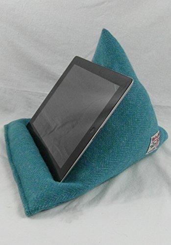 Authentic Harris Tweed Harris Tweed iPad Sitzsack–E-Book Reader Stehen–Tablet Kissen...