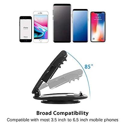 Modohe-Handyhalterung-Auto-360-Sockel-drehbar-Kfz-Armaturenbrett-Universal-rutschfest-Handyhalter-fr-iPhone-XR-XS-Max-X-8-7-6s-Plus-Samsung-S10-S9-Huawei-P20-und-alle-35-65-Zoll-Smartphones