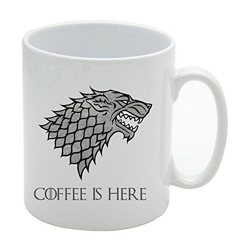 Game of thrones stark funny mug coffee tea cup novelty gift idea