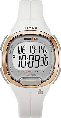 Timex Damen Digital Uhr mit Harz Armband TW5M19900