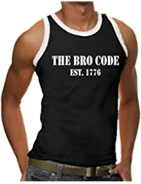 Touchlines Herren How I Met Your Mother - The Bro Code Ringer/Kontrast Tank Top BEN345