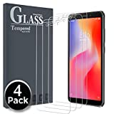Ferilinso [4 Pièces Verre Trempé pour Xiaomi Redmi 6/Redmi 6A,Protection écran Screen Protector Film Verre Trempé Glass Screen Protector Vitre Tempered