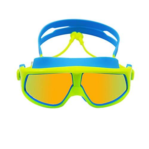 Floridivy BOIHON Silikon Schwimmbrille für Kinder Anti-Nebel UVschwimmen Earplug Brille Kinder Wassersport Brillen