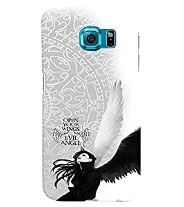 PRINTVISA Abstract Angel Case Cover for Samsung Galaxy Note 5 Edge