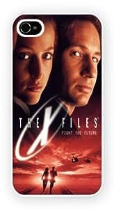 iPhone 5 ou 5S, The X Files Mulder and Scully, Nouveau Printed cas dur de téléphone - Coque de protection - Installez le - Haut Quaility