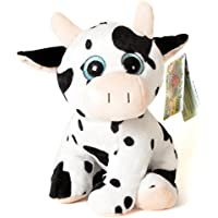 Animales de la Granja - Peluche Vaca con ojos brillantes (10