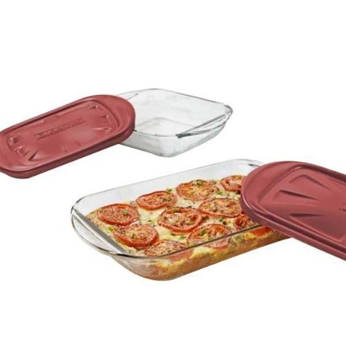 Anchor Hocking 4 Pc. Glass Bakeware Set 91036 by Anchor Hocking