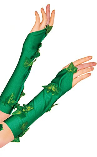 Kostüm Comic Poison Ivy - Rubie's Women's DC Comics Poison Ivy Glovelette, Green, One Size