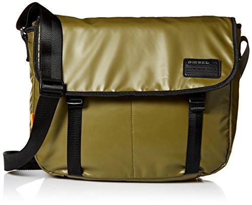 Diesel Herren Messenger Bag Discover - grün - Einheitsgröße