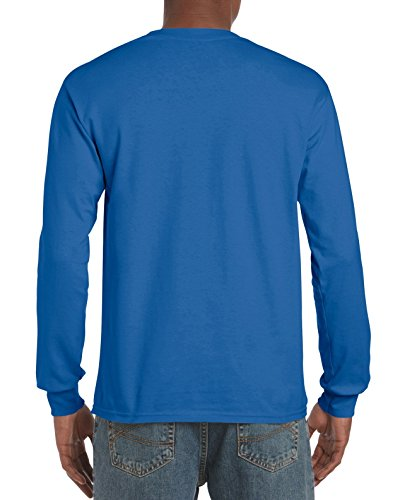 Pirate Booty auf American Apparel Fine Jersey Shirt Königsblau