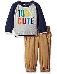 The Children's Place Boys' Raglan Sweater Set