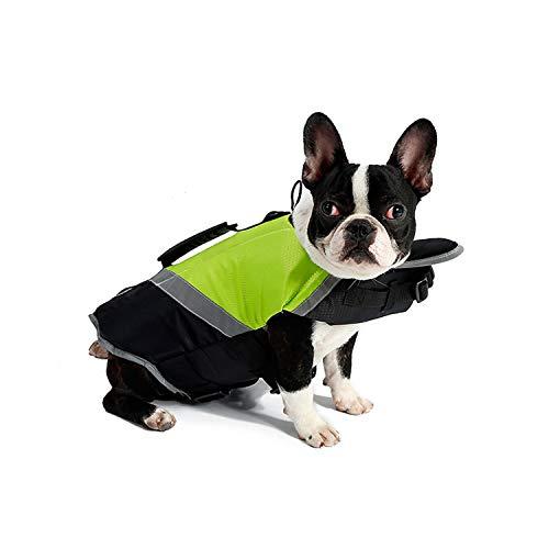 PETCUTE Schwimmwesten für Hunde Rettungsweste für Hunde Hundeschwimmweste Reflektierende Badebekleidung für Hunde Lebensretter