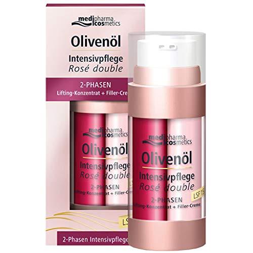 medipharma cosmetics OLIVENÖL INTENSIVCREME Rose double, 1er Pack(1 x 30 milliliters)