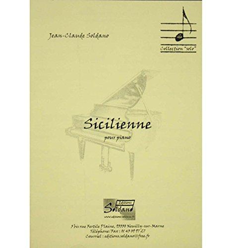 Sicilienne - JC Soldano - Piano par  Divers