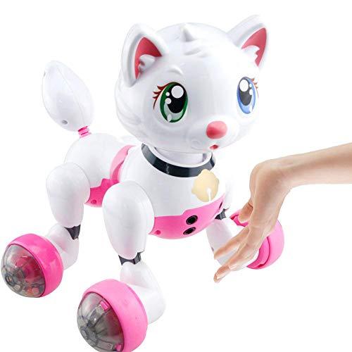 Biback Hi Tech Drahtlose Interaktive intelligente Roboter-Katze Spielzeug Fernbedienung Hunde für Mädchen Geburtstag Geschenk