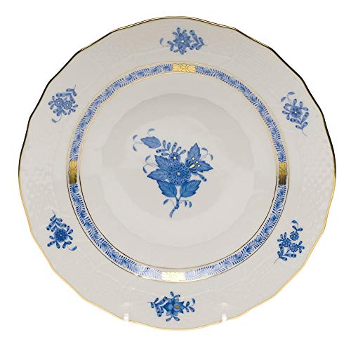 Herend Chinese Bouquet Blue Dessert Plate by Herend -