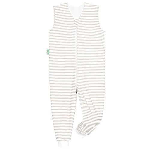 Preisvergleich Produktbild Odenwälder Jersey-Schlafoverall Hopsi stripes soft cooki,  Größe:98 / 104