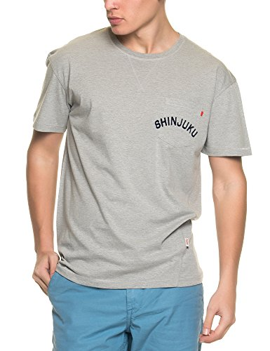 Jack & Jones Herren T-Shirt grau grau Einheitsgröße Grey