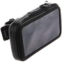 Soporte de Manillar con cremallera impermeable Bolsa para iPhone 5, 5S, 5C de la motocicleta Stander Hold MTB