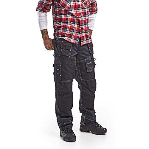 BLAKLÄDER Arbeitshose X1500 Cordura-Demin Bundhose Arbeitskleidung Berufskleidung Handwerkerhose, Größe:50
