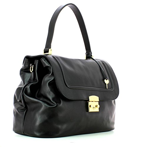 TWIN SET BORSA PELLE NERO MainApps NERO