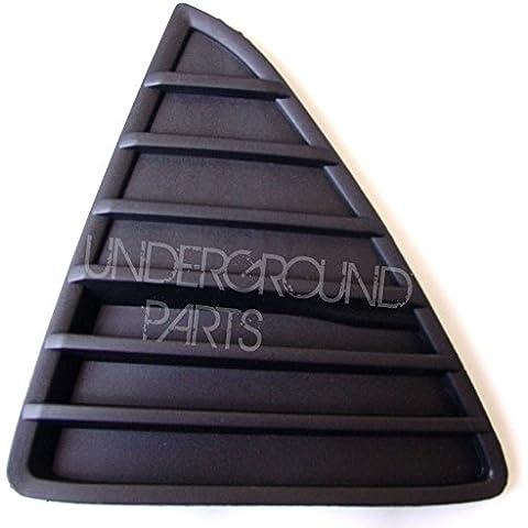 FORD FOCUS MK3 anteriore sinistra (griglia a triangoli, colore: nero
