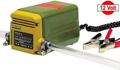 Proxxon AP 12 Ölabsaugpumpe, selbstansaugende Ölpumpe für Motorenöl, Diesel, Heizöl, inkl. Saug- und Ablassschlauch, 25262 (Auto-teile-wasser-pumpe)