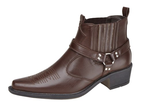 Us Brass ,  Herren Westernboots Dark Brown