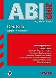 STARK Abi - auf einen Blick! Deutsch NRW 2019