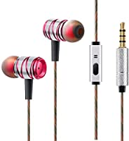 CHOETECH in-Ear Headphones,Music Earphones Super Bass Headphones with Mic Noise Canceling Headset for iPhone Samsung Huawei